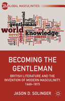 Becoming the Gentleman Pdf/ePub eBook