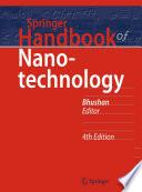 Springer Handbook of Nanotechnology Book