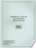 Corporate Library Benchmarks 2004 05 Edition