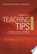 link to McKeachie's Teaching Tips : Strategies, Research, and Theory for College and University Teachers in the TCC library catalog