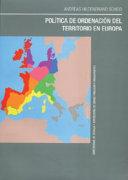 Política de ordenación del territorio en Europa