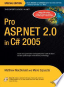 Pro Asp Net 2 0 In C 2005 Special Edition