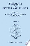 Strength of Metals and Alloys (ICSMA 8)