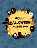 Adult Halloween Coloring Book