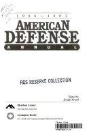 American Defense Annual  1990 1991