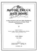 The Motor Truck Red Book Book