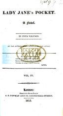 Lady Jane s Pocket  A novel  By the author of    Silvanella     etc