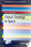 China's Strategy in Space Pdf/ePub eBook