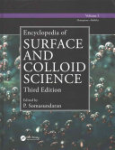 Encyclopedia of Surface and Colloid Science, Third Edition - Ten Volume Set (Print Version)