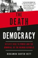 The Death of Democracy Pdf/ePub eBook