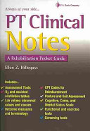 PT Clinical Notes Book