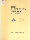 The Australian Library Journal
