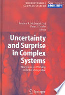 Uncertainty And Surprise In Complex Systems Book PDF