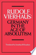 Germany in the Age of Absolutism