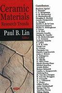 Ceramic Materials Research Trends
