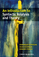 An Introduction to Syntactic Analysis and Theory [Pdf/ePub] eBook