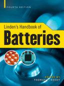 Linden s Handbook of Batteries  4th Edition Book