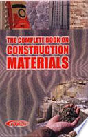 The Complete Book on Construction Materials Book