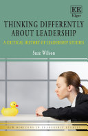 Thinking Differently about Leadership Pdf/ePub eBook