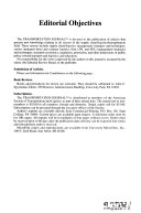 Transportation Journal Book PDF