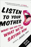 Listen to Your Mother Deluxe ebook