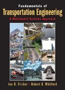Fundamentals of Transportation Engineering