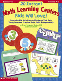 20 Instant Math Learning Centers Kids Will Love