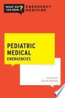 Pediatric Medical Emergencies Book PDF