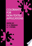 Colorants for Non Textile Applications Book
