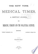 New York Medical Times Book