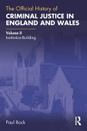 Pdf The Official History of Criminal Justice in England and Wales Telecharger