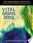 Vital Signs 2003 Book