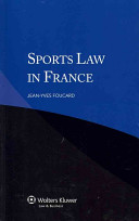 Sports Law in France