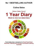 Kitchen Safety Record 1 Year Diary