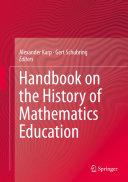 Handbook on the History of Mathematics Education Pdf/ePub eBook