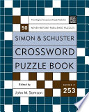 Simon and Schuster Crossword Puzzle Book #253