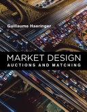 Pdf Market Design