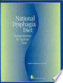 National Dysphagia Diet