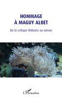 Hommage à Maguy Albet