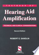 Textbook of Hearing Aid Amplification