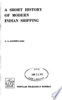 A Short History of Modern Indian Shipping