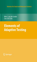 Pdf Elements of Adaptive Testing