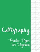 Calligraphy Practice Paper For Beginners