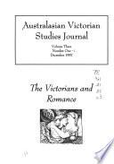 Australasian Victorian Studies Journal