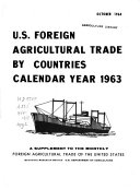 U  S  Foreign Agricultural Trade by Countries  Calendar Year