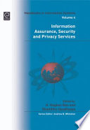 Information Assurance  Security and Privacy Services Book