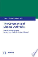 The Governance Of Disease Outbreaks