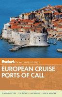 Fodor s European Cruise Ports of Call