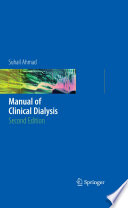 Manual of Clinical Dialysis