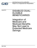 Disabled Dual-eligible Beneficiaries